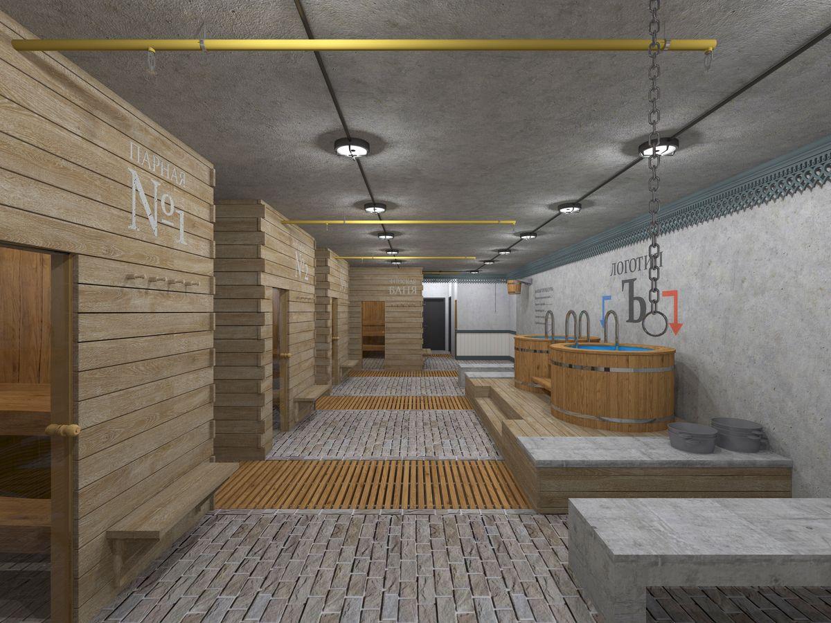Проект общественной бани