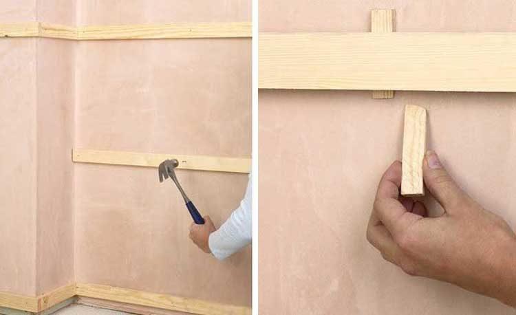 Отделка стен вагонкой. как правильно крепить материал?