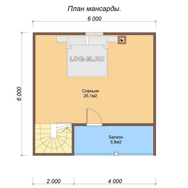 Бани с мансардой недорого под ключ: проекты, планировки и цены на бани из бруса в москве