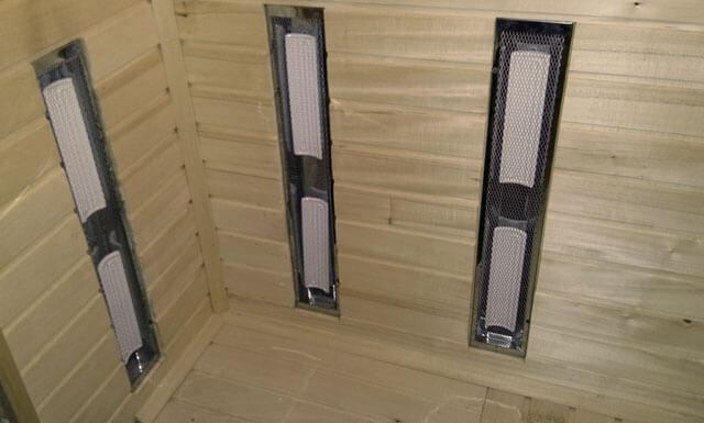 Инфракрасные обогреватели для сауны: выбор и установка