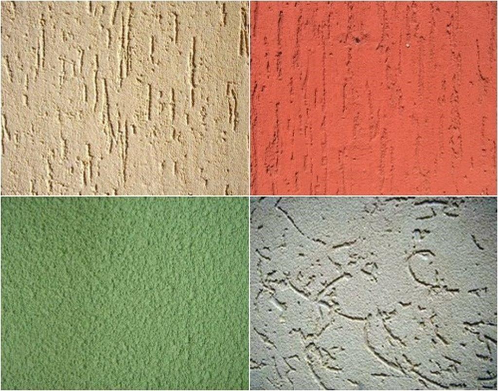 Штукатурка короед: фактурная, декоративная, акриловая, минеральная