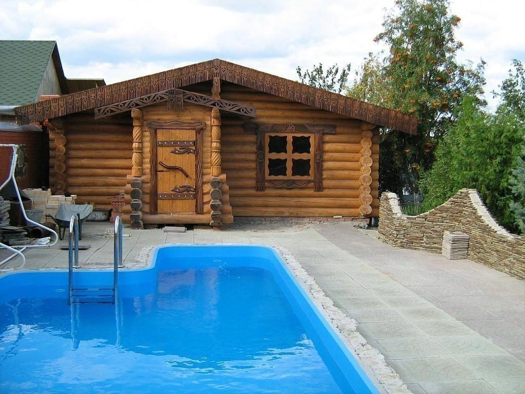 Какой проект бани с бассейном выбрать и как её построить