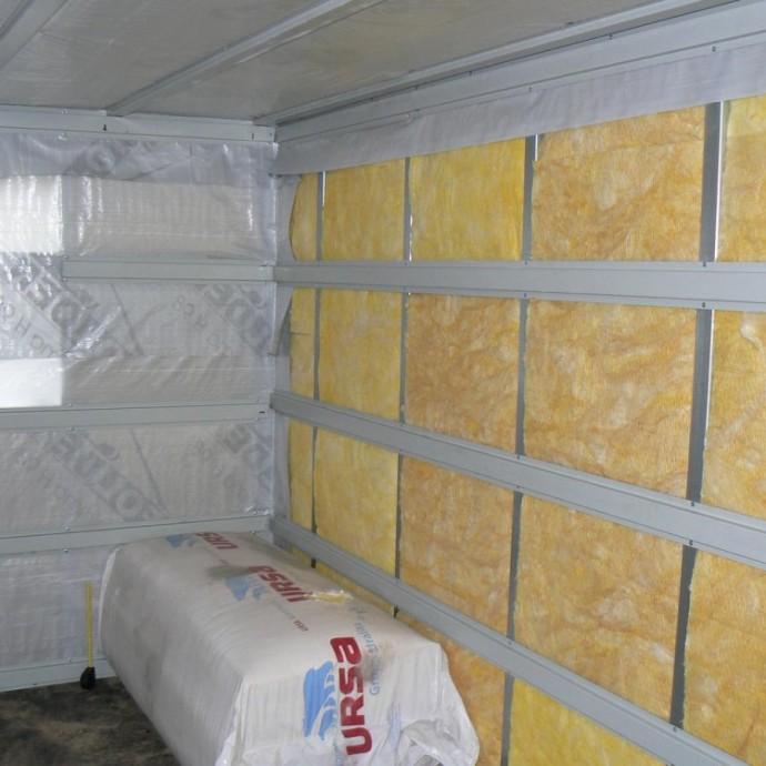 Как правильно утеплить стены бани изнутри: виды утеплителей, процесс утепления, советы