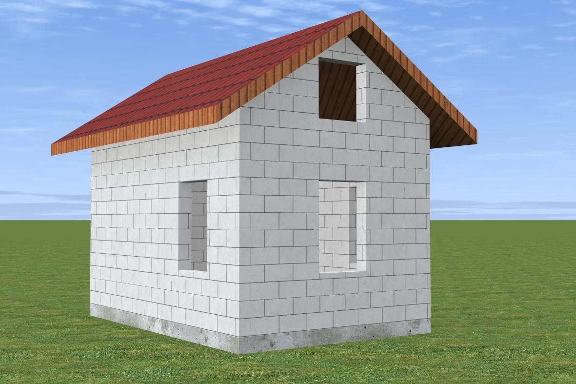 Баня из газобетона: плюсы и минусы, этапы строительства
