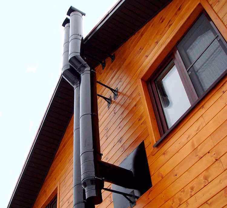Какую трубу выбрать для устройства дымохода: сравнительный обзор 5-ти вариантов