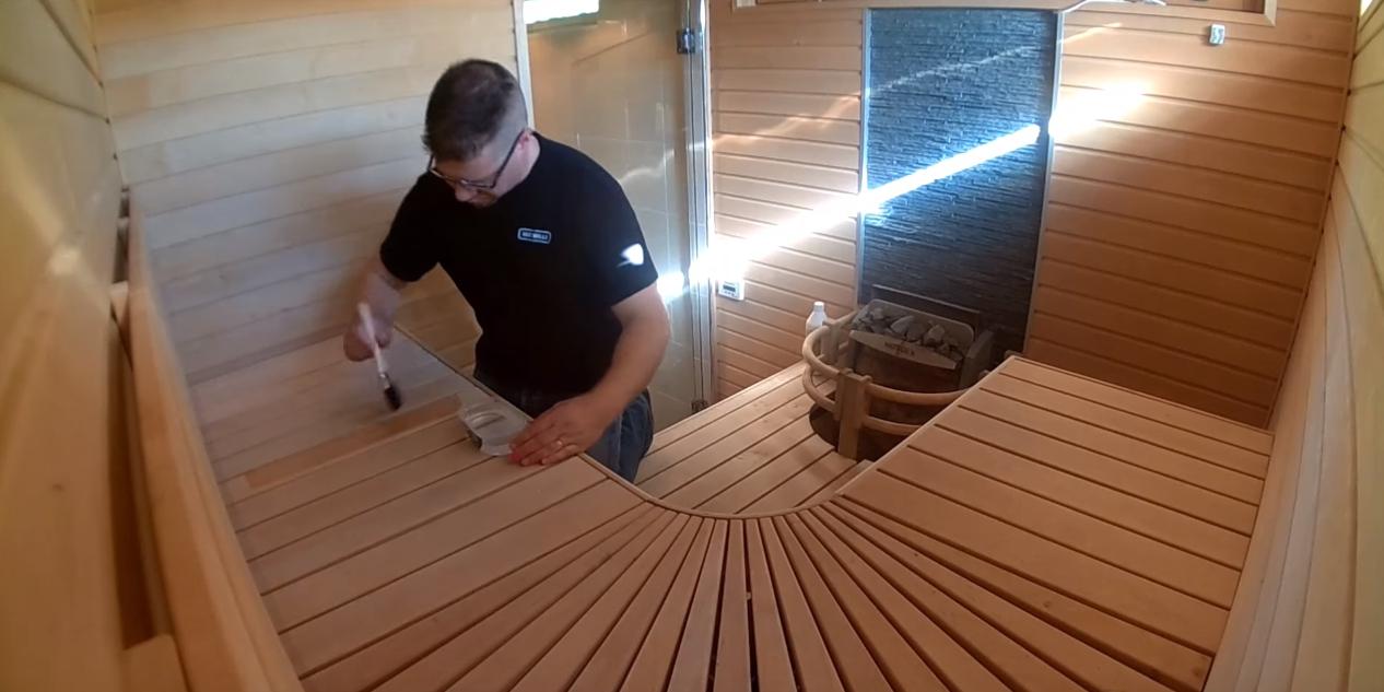 Чем обработать сруб бани снаружи и внутри, чем покрыть бревна, обработка, чем обрабатывают, фото и видео