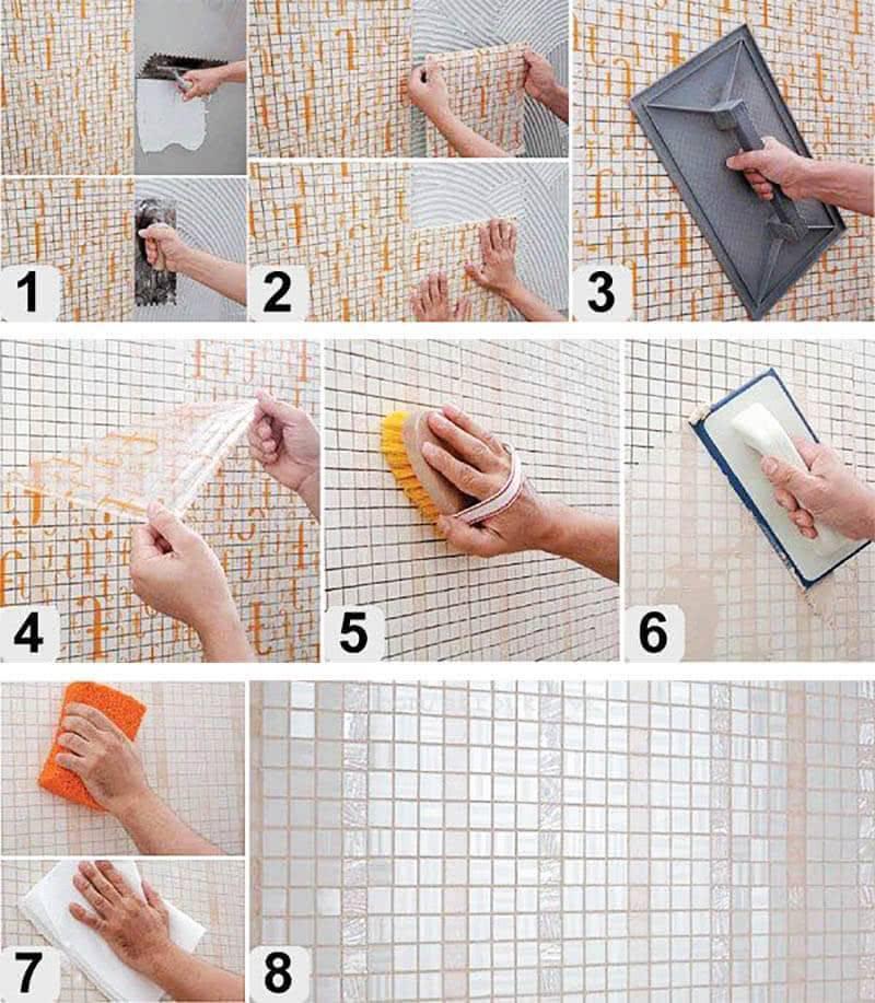 Как класть плитку на стену правильно пошаговая инструкция по облицовке