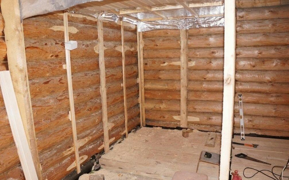 Утепление деревянной бани: русская баня — для жара и пара