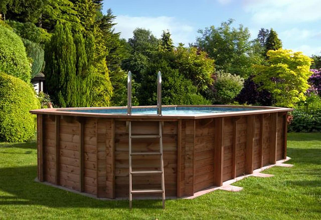 Деревянный бассейн своими руками: четыре варианта с фото