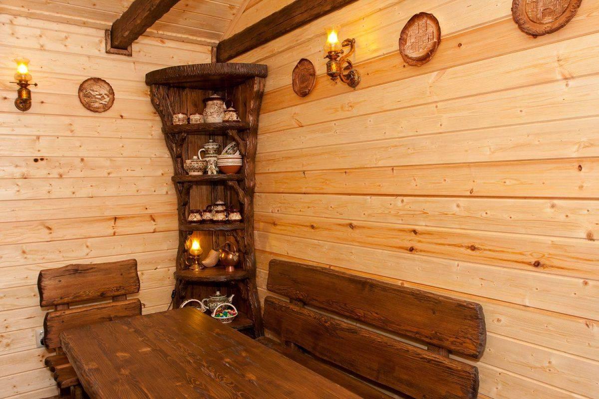 Деревянная мебель для бани и сауны своими руками: чертежи и схемы сборки + видео