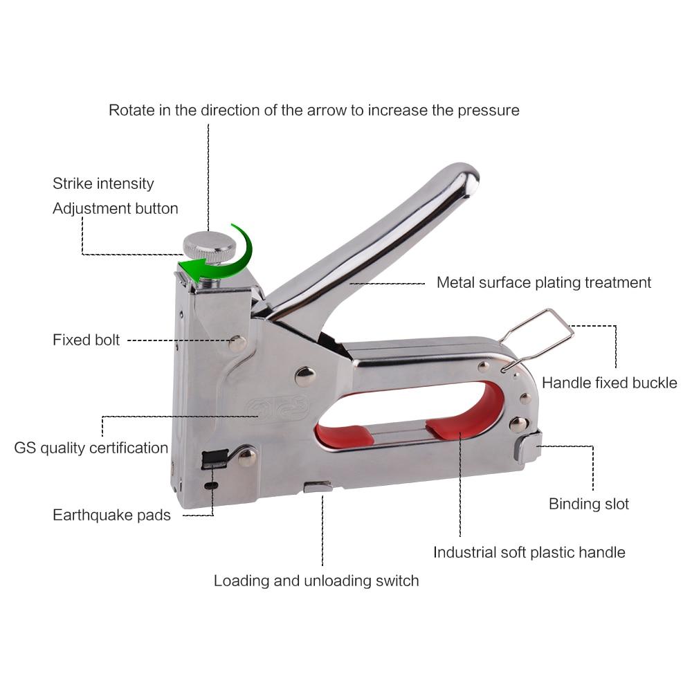 Разновидности скоб для строительного степлера, типы и размеры