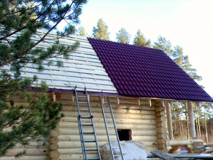 Крыша бани – основные рекомендации по подбору типа и инструкция по постройке (90 фото)