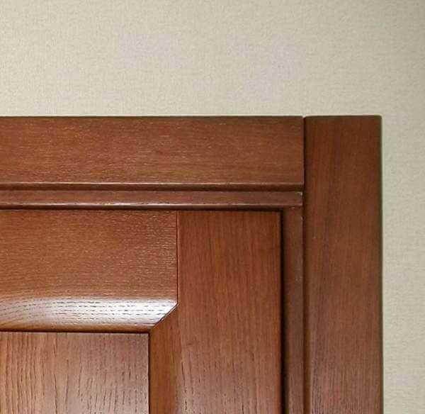 Как правильно установить наличники на межкомнатные двери