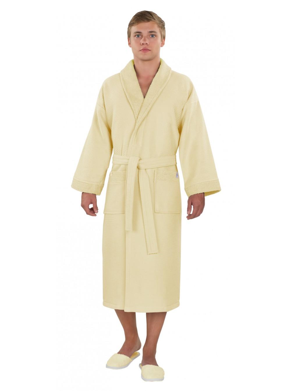 Вафельные халаты для бани и сауны: что важно знать