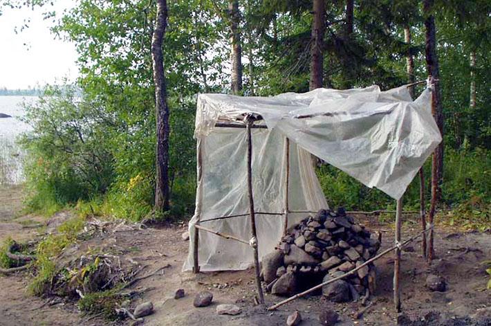 Баня палатка - лучший спутник туриста-походника