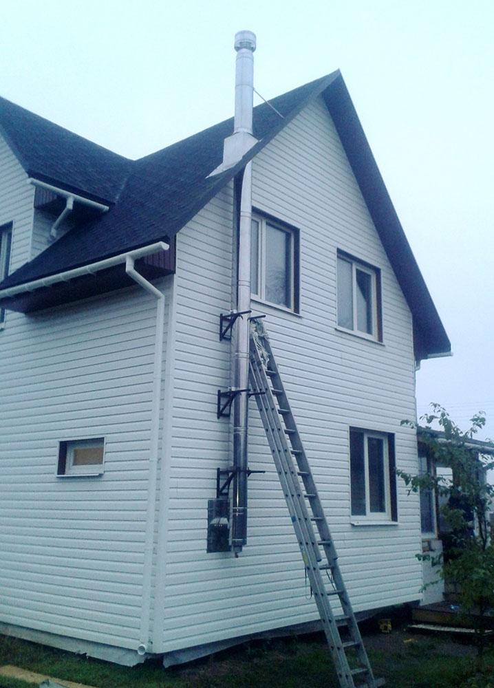 Как правильно сделать дымоход для котла в частном доме