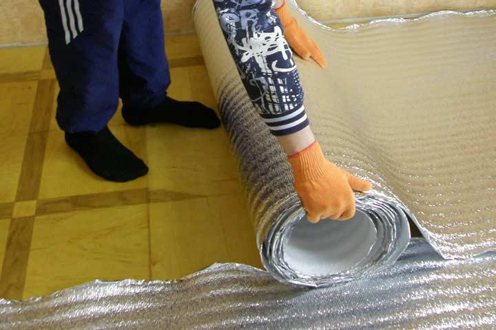 Чем приклеить пенофол к бетону — правила выбора и применения клеевого состава