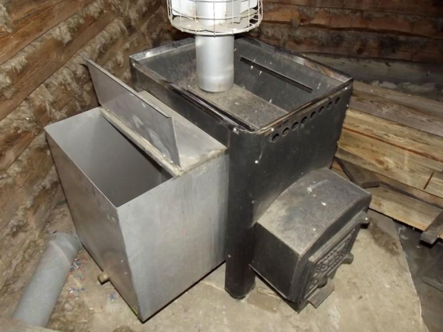 Как сварить печь для бани из трубы