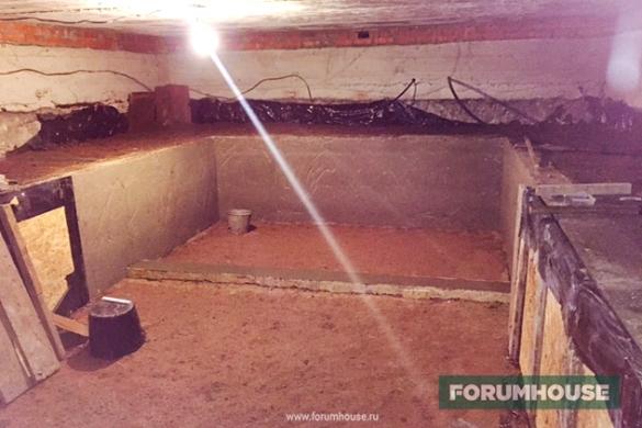 Баня в подвале частного дома: как сделать своими руками