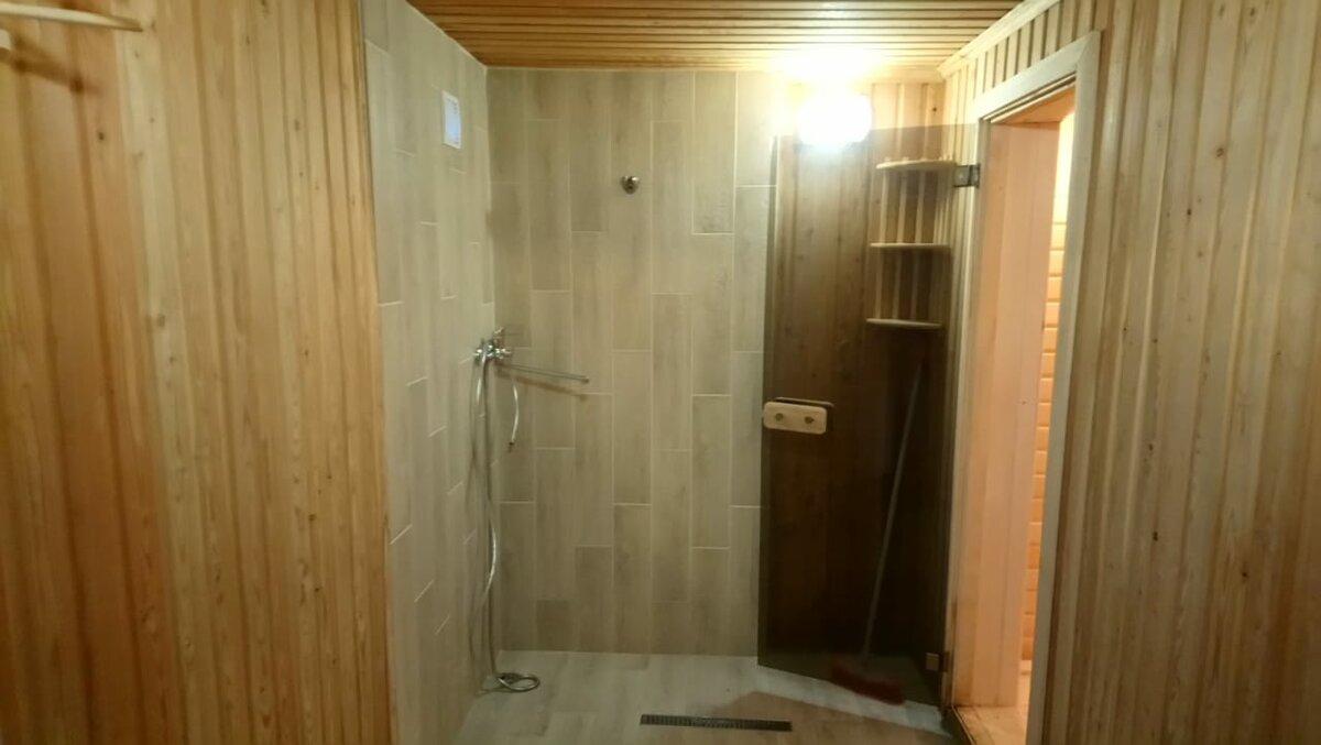 Моечная в бане: функциональные особенности и отделка