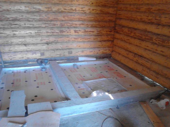 Как правильно утеплить пол в бане: выбор материала, расчёт, технология работ