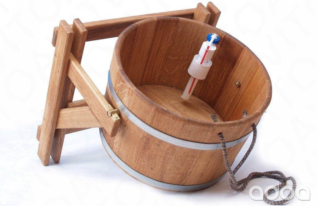 Обливное устройство (ведро-водопад) для бани и сауны: конструкция, принцип действия, изготовление своими руками