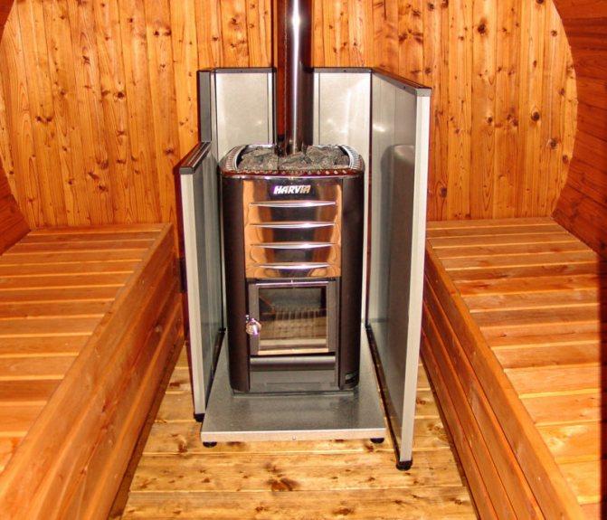 Котлы для бани на дровах: рекомендации по выбору, устройство, установка
