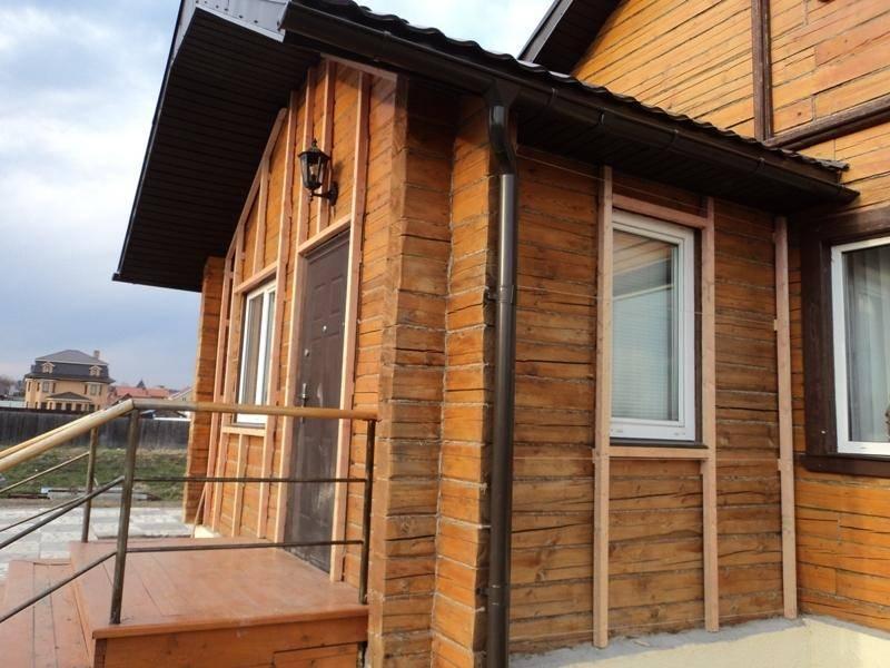 Имитация бруса для наружной отделки дома (фасада): необходимая толщина обшивки, фото