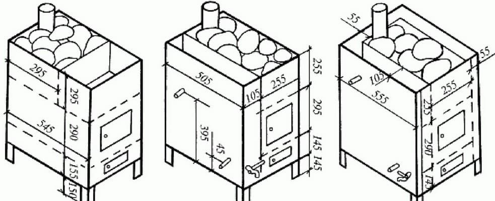 Как сделать печь для бани своими руками – подробности от мастера