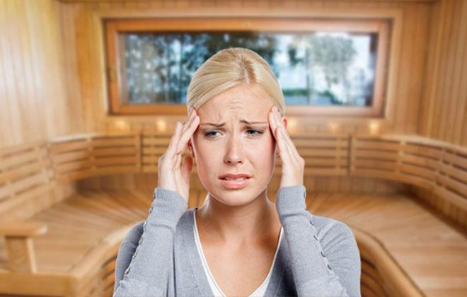 Почему после бани или сауны болит голова: причины и профилактика