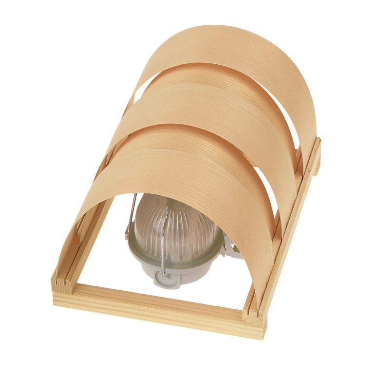 Светильники для парной - строим баню или сауну
