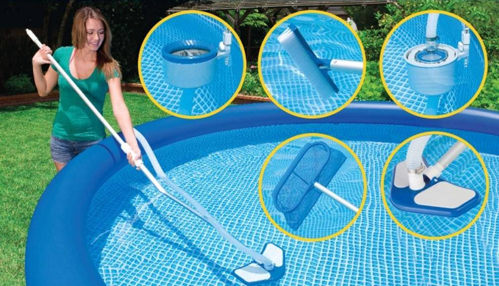 Очистка воды в бассейне: как почистить воду на даче своими руками