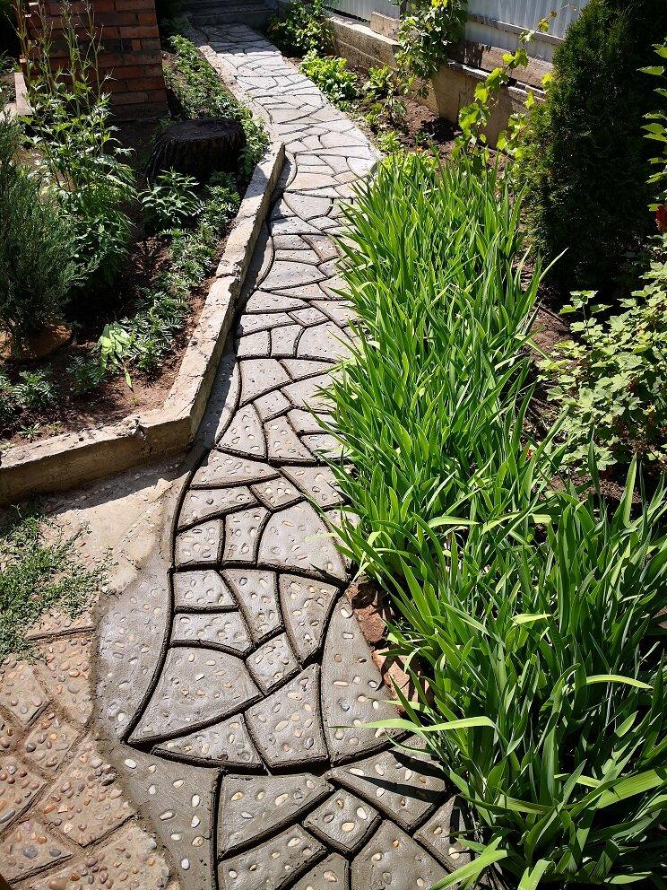 14 вариантов / материалов из чего можно сделать садовую дорожку | строительный блог вити петрова