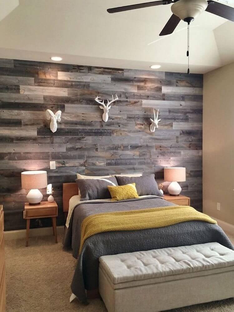 Ламинат на стене в интерьере: фото отделки стен ламинатом