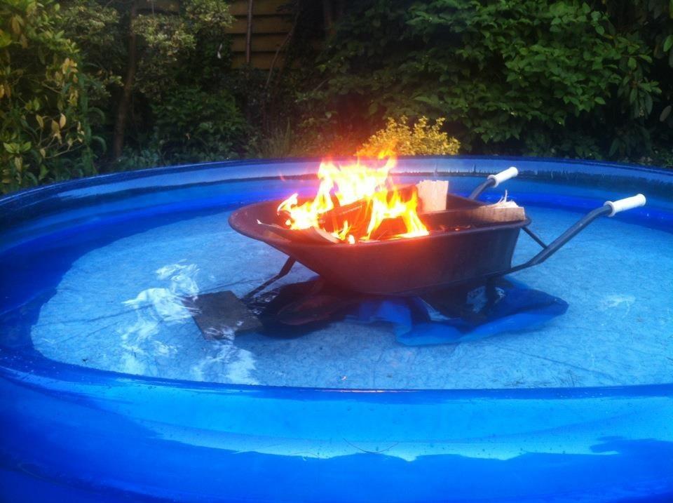 Любителям поплавать даже в холода: дровяная печь для бассейна. как построить самому?