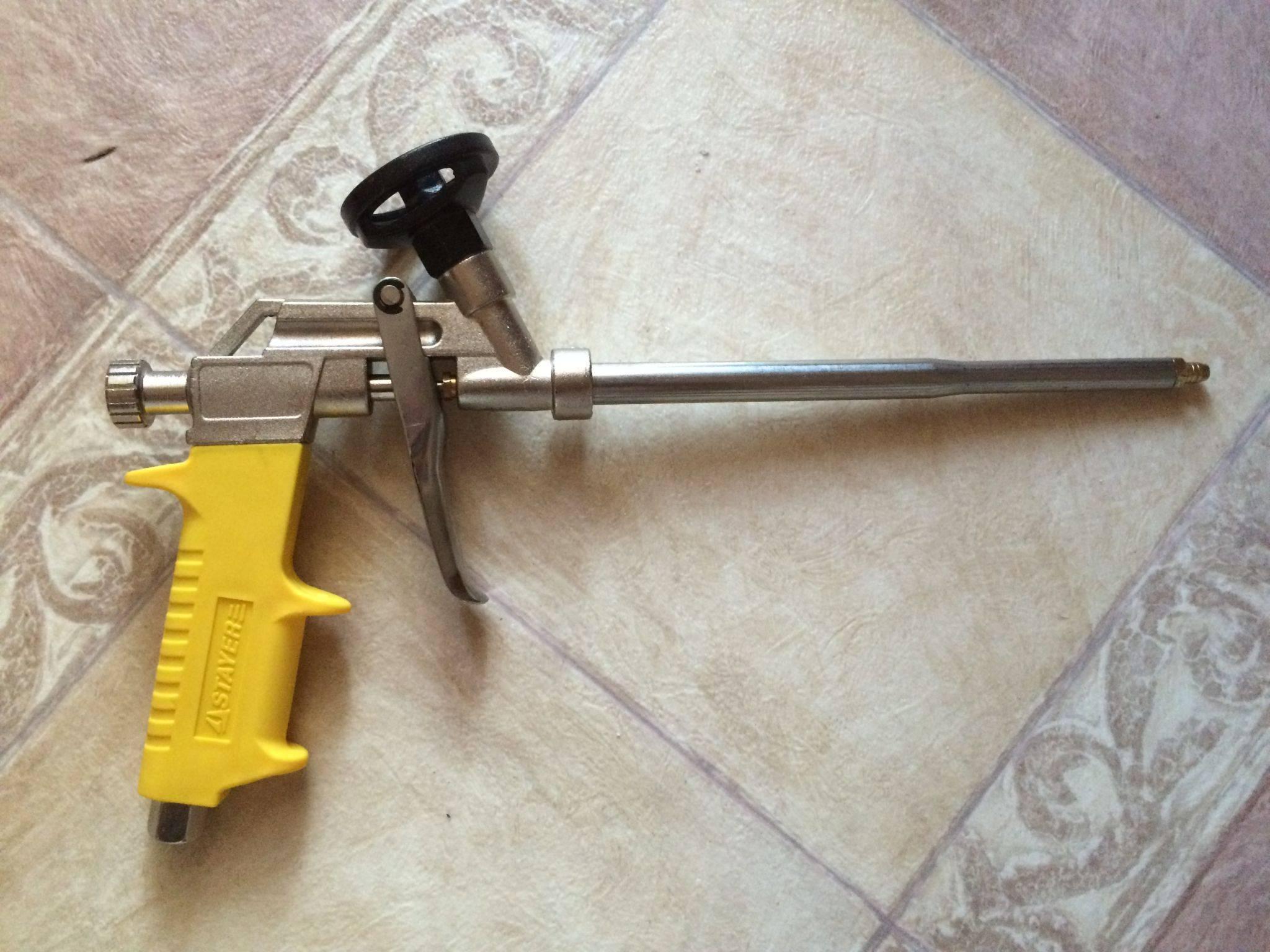 Лучший вариант: как выбрать пистолет для монтажной пены?