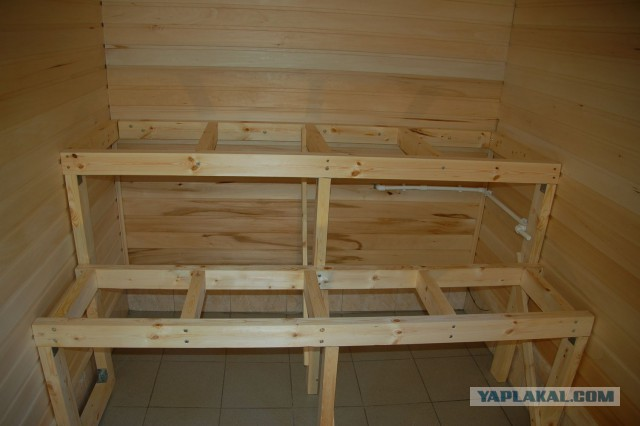 Как сделать лежак для русской бани своими руками - 3 лучших варианта!