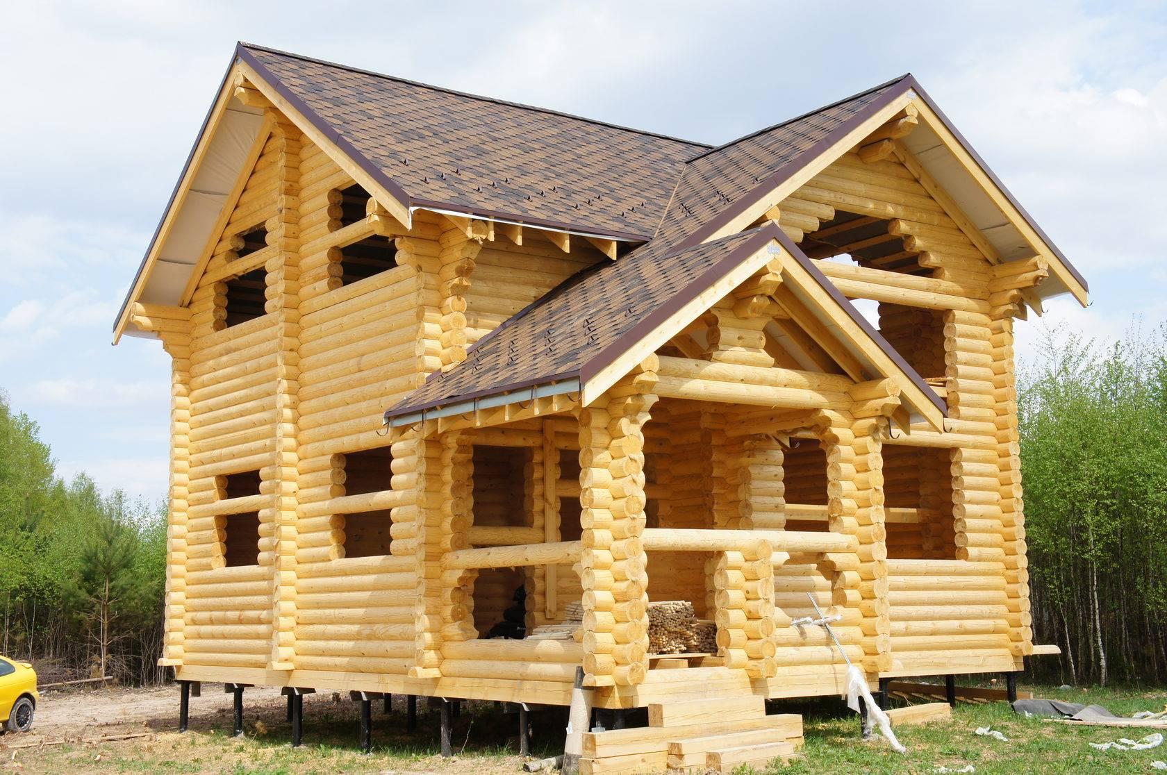 Строительство дома из оцилиндрованного бревна. Основные моменты, на которые стоит обратить внимание