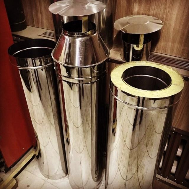Труба для бани сэндвич: монтаж дымохода, как правильно установить трубу из нержавейки для банной печи, сборка на фото и видео