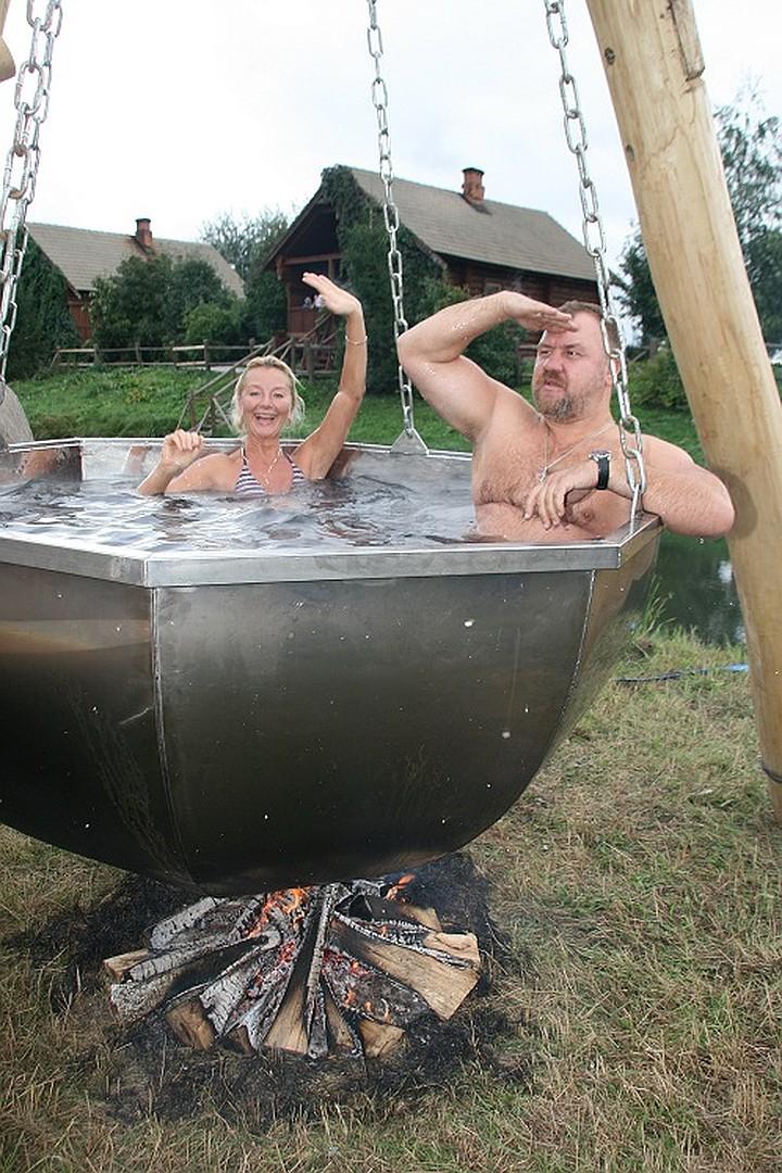 Фитобочки, контрастные купели — здоровье от русской бани
