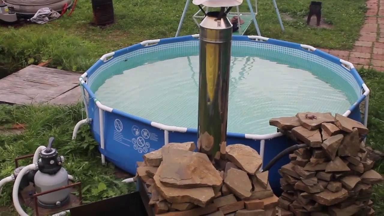 Как сделать подогрев бассейна? все возможные способы и варианты