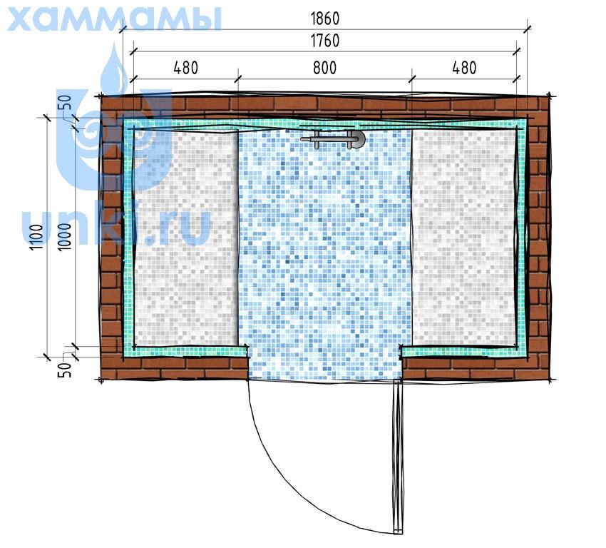 Строим хамам своими руками: устройство и отличия от парной бани и сауны