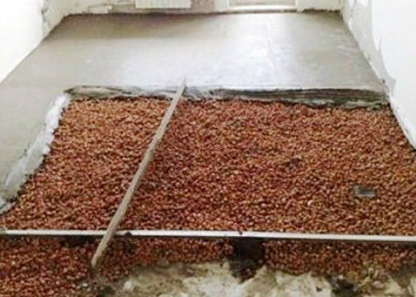 Утепление пола в бане керамзитом - строим баню или сауну