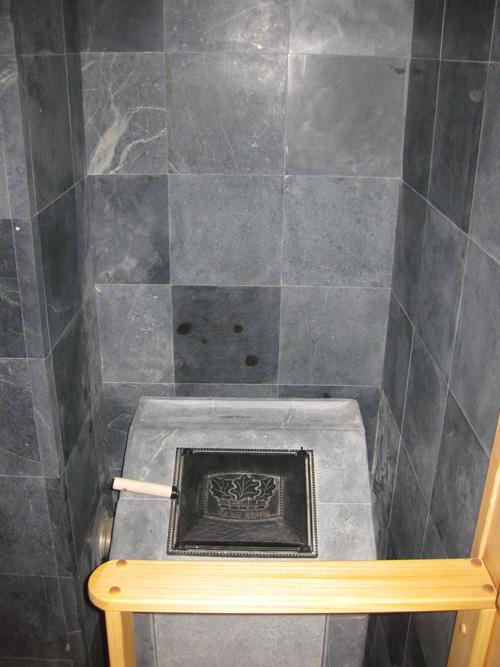 Использование талькохлорита для бани