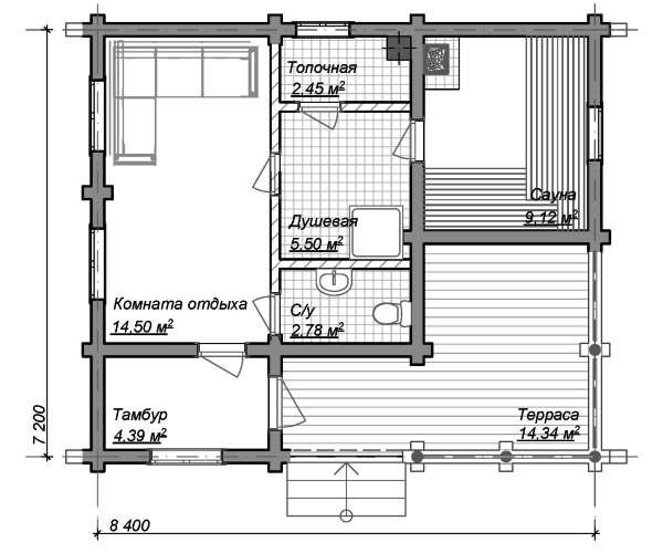 Баня из пеноблоков: достоинства и недостатки строительного материала, варианты проектов бань из пеноблоков