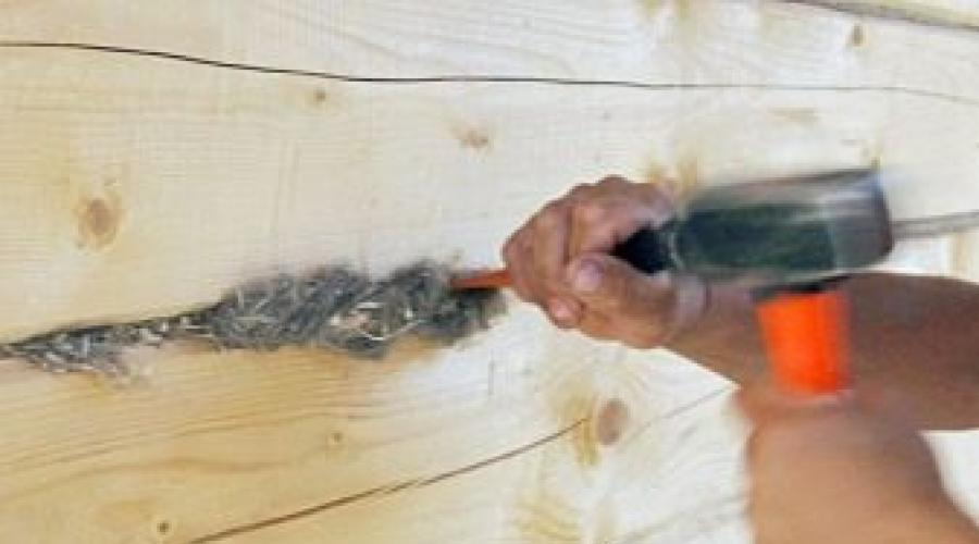 Конопатка сруба: зачем, как и когда конопатить дом из бруса