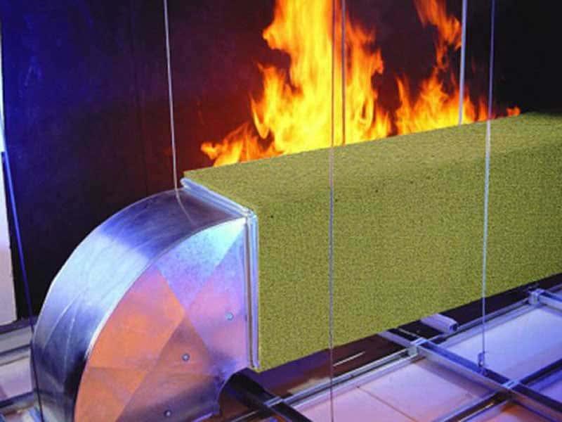 Негорючий материал для отделки стен