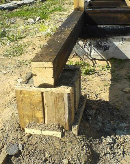 Баня из шпал своими руками: плюсы и минусы