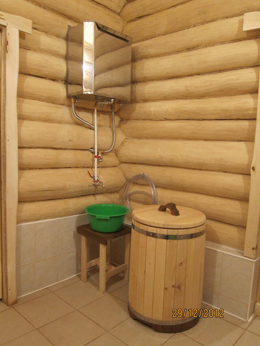 Бак для горячей воды в баню своими руками