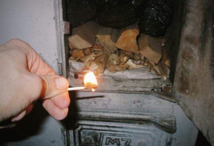 Угорел от печки или угарел